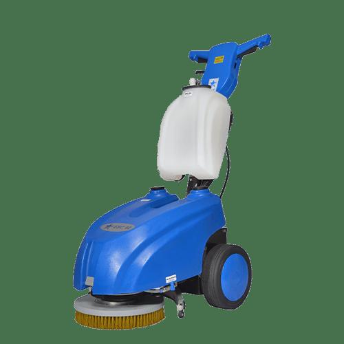 Cleanvac BSC42 Akülü Dar Alan Zemin Temizleme Makinesi