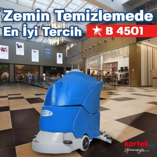 Cleanvac B 4501 Akülü Zemin Temizleme Otomatı