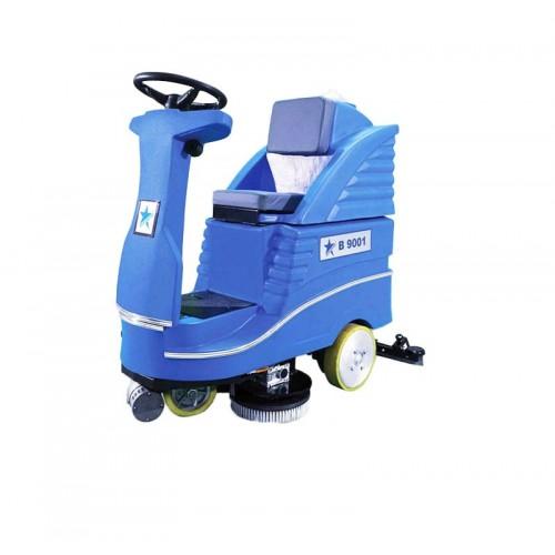 Cleanvac B 9001 Akülü ve Binicili Zemin Temizleme Otomatı