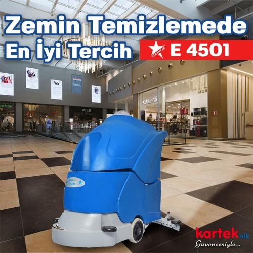 Cleanvac E 4501 Elektrikli Zemin Temizleme Otomatı