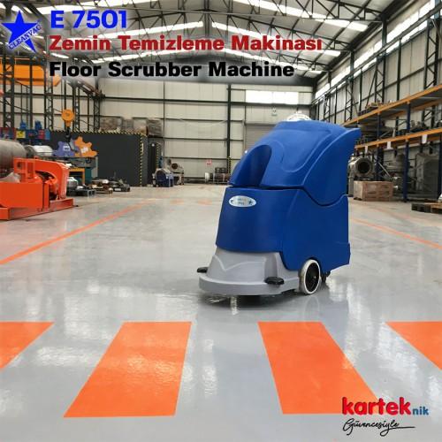 Cleanvac E 7501 Elektrikli Zemin Temizleme Otomatı